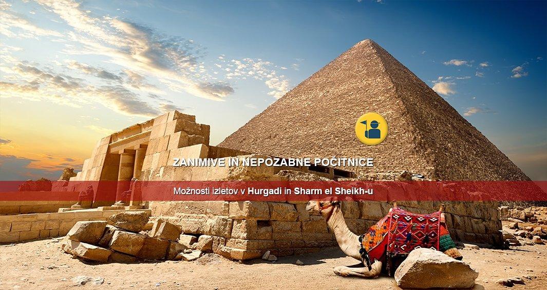 Izleti v Egiptu